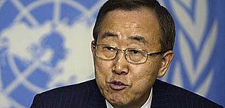 Ban Ki-moon at UN Summit